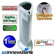 Ionmax Ion401 Ionic Air Purifier Filter Clean Dust Smoke Ioniser Home Office
