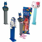 12 Favorites Pez Each With 2 Packs Of 6 Rolls Pez Candy Refills