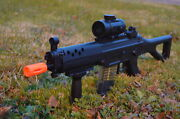 Double Eagle Sig 552 Style Full Auto Electric Airsoft Gun Rifle