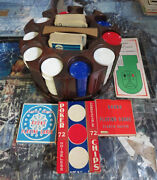 Klm Dutch Airlines Poker Set With 4 Decks Of Playing Cards Bring Your Pals Over