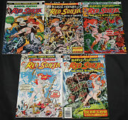 Vintage Bronze Age Red Sonja 15pc Count Mid-high Grade Comic Lot Marvel Feature