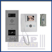 Bpt - 1 Way Video Intercom Door Entry System With Proximity Reader Name Panel