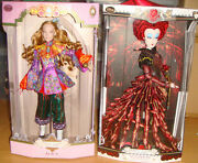 Disney Limited Edition - Through The Looking Glass Alice, Red Queen 2 Doll Set