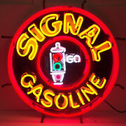 Wholesale Lot 5 Neon Sign American Motor Oil Gas Gasoline Flying A Pump Globe