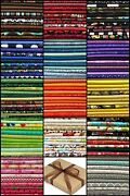 10 Fq Fabric Bundle Charm Pack - Packs - 100 Cotton Quilting Fabric 18x22