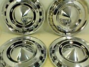 1956 Chevrolet Hubcaps Wheel Covers 15 Set Of 4