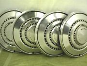 4 Vintage 1973 1974 1975 1976 Ford Hubcaps 15 Wheel Covers Galaxie Ranchero