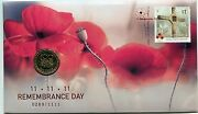 2016 Remembrance Day Fdc/pnc With Limited Edition Ram 1 Coin 0289/1111 Sold Out