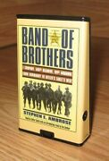 Band Of Brothers By Stephen E Ambrose Playaway Audio Book Read By Cotter Smith