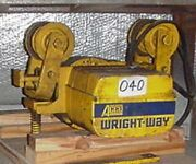 Acco Wright Tractor - 2 Ton Capacity Trolley Wheels For Patented Track - 3 Phase