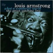 Louis Armstrong - What A Wonderful World-the Great Satchmo Live [new Vinyl Lp] H
