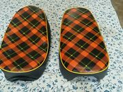 Z50m Seat Cover Red Tartan Style Best Quality H114--n7