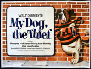 My Dog The Thief 1969 Dwayne Hickman Mary Ann Mobley Elsa Lanchester Quad Poster
