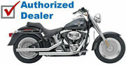 Cobra Chrome Dragsters Exhaust Pipes Chrome Tips 2007-2011 Harley Softail 6811t