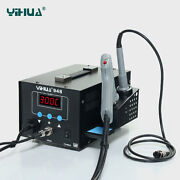De-yihua948 Electric Suction Tin/gun To Tin With Soldering Iron Handle New 220v