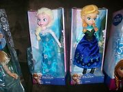 Disney Frozen Elsa And Anna Large Plush 14 Inch Dolls Sold Out