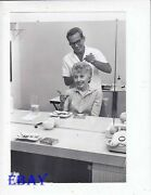 Barbara Stanwyck Has Hair Done Vintage Photo Candid