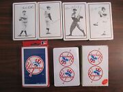 1978 Sports Decks Playing Cards. Sealed Ruth Gehrig Mantle Hunter + 2 More