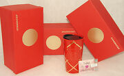 Starbucks - Valentineand039s Day Red And Gold Traveler Tumbler + Gift Card 2017 New