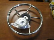 V06 Stainless Steel Complete With Hub Size 13.8