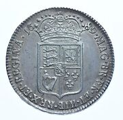 Rare 1689 Halfcrown First V Over A In Gvlielmvs Silver Coin William And Mary