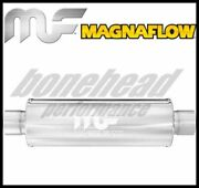 Magnaflow 10416 Performance Stainless Round Muffler 2.5 Inlet / Outlet Exhaust
