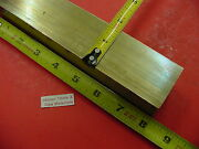 1-5/8 X 1-5/8 C360 Brass Square Bar 8 Long Solid 1.625 Flat Mill Stock H02