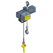 2 Ton Electric Chain Hoist Hook Mounted Street Lx Series Lx031 Free Freight