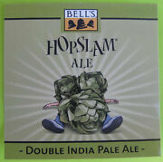 Hopslam Double India Pale Ale Beer Sticker Label W Hops Belland039s Comstock Michigan