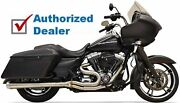 Bassani Stainless Road Rage 2 Into 1 Exhaust Header System Harley Touring 95-16