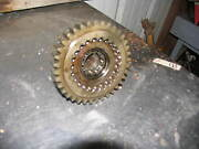 John Deere Tractor Motor 60 620 630 Gear Transmission Drive And Shaft