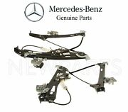 New For Mercedes W219 Pair Set Of Two Front Electric Window Regulators Genuine