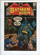 Detective Comics 390 - If The Coffin Fits..wear It - Fn/vf 1969