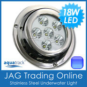 18w 63w Blue Led 316 Marine Stainless Underwater Boat Fishing Squid Light Ss