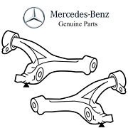 For Mercedes W164 Ml63 Amg Base V8 Pair Set Of 2 Front Lower Susp Control Arms
