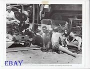 Rod Taylor Barechested Claudia Cardinale Sexy Vintage Photo Hell With Heroes