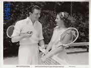 Lyle Talbot Barbara Stanwyck A Lost Lady Vintage Photo Linenbacked
