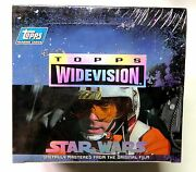 Star Wars A New Hope Widevision Trading Card Box 1994 New Topps Amricons