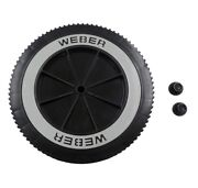 Weber Grill Part 63050 8 Wheel And Cap - Gas And Charcoal Kettle Grills