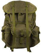 Military Backpack Alice Pack Olive Large Size With Aluminum Frame Rothco 2266