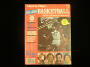1978-79 Game Plan College Basketball Annual Preview Magazine