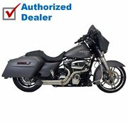 Supertrapp Kerker Bootlegger 2 Into 1 Exhaust System Pipe 10-2016 Harley Touring