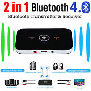 2in1 Wireless Bluetooth 4.1 Transmitter+receiver A2dp Stereo Audio Music Adapter