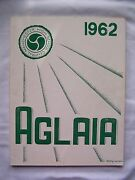 1962 Central High School Yearbook Manchester, New Hampshire Aglaia