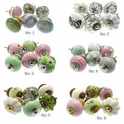 Ceramic Door Knobs In A Variety Of Shabby Chic Styles Sets Of 6 Upcycle Decor
