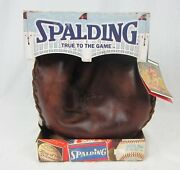 A.g. Spalding And Sons Retro Series Catchers Right Hand Throw Glove Discontinued