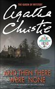 And Then There Were None By Agatha Christie English Prebound Book Free Shippin
