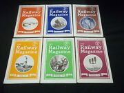 1943 The Railway Magazine Lot Of 6 Complete Year - Great Photos - G 1589