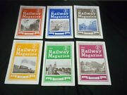 1945 The Railway Magazine Lot Of 6 Complete Year - Great Photos - G 1587