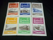 1946 The Railway Magazine Lot Of 6 Complete Year - Great Photos - G 1586
